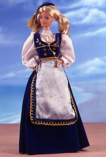 Icelandic Barbie® Doll 1987