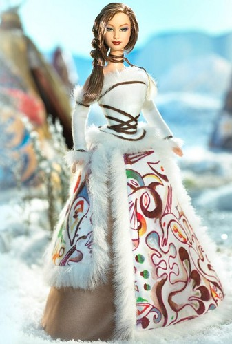 Barbie: Dolls Collection wallpaper called Inuit Legend™ Barbie® Doll 2005