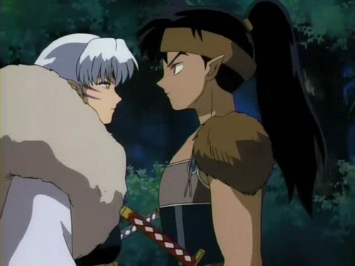 犬夜叉 Episode 99 Sesshomaru and Kouga;A Dangerous Encounter Screencap
