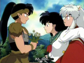 Inuyasha Episode 99 Sesshomaru and Kouga;A Dangerous Encounter Screencap