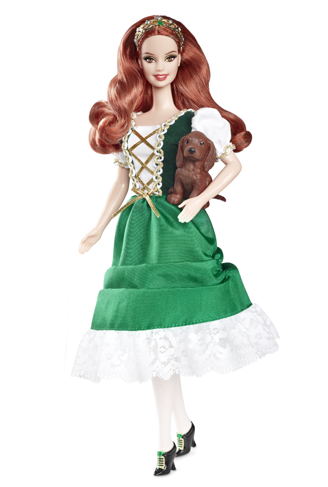Barbie Dolls Collection Images Ireland Barbie Doll 2012 Hd