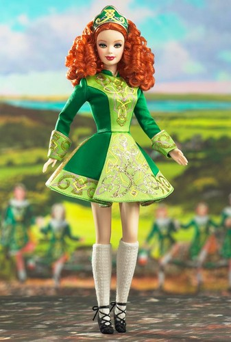 Barbie: Dolls Collection wallpaper called Irish Dance™ Barbie® Doll 2006