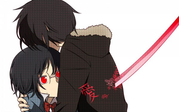 durarara images izaya x anri wallpaper and background