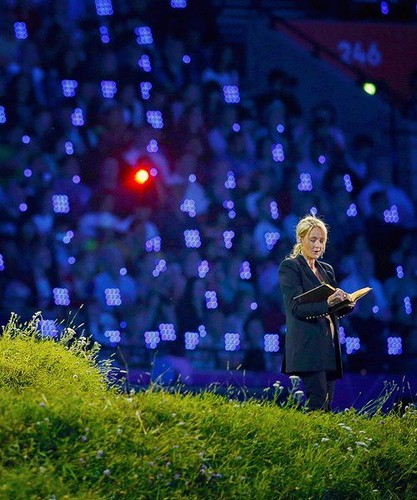 J.K. Rowling at the Olympics