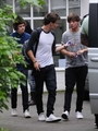 JUL 31ST - OUTSIDE A RECORDING STUDIO, Londres