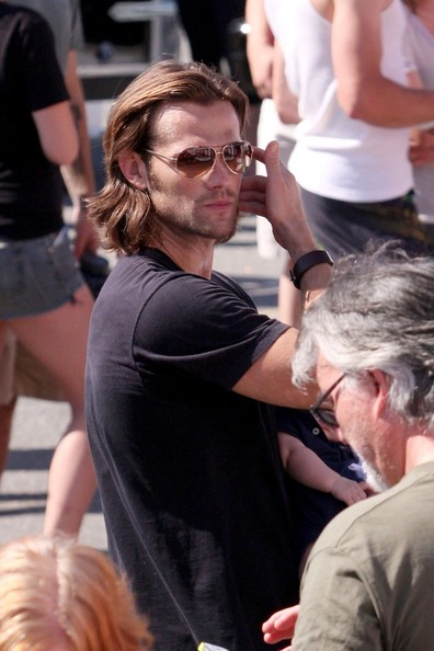 Jared Padalecki and Family in Vancouver