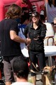 Jared Padalecki and Family in Vancouver - jared-padalecki-and-genevieve-cortese photo