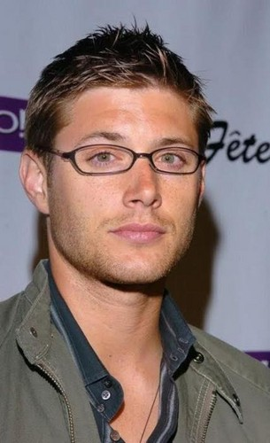 Jensen with glasses