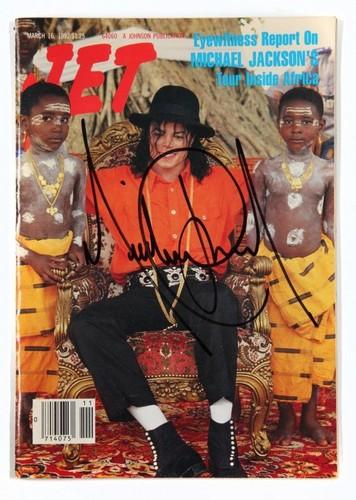 Jet mag signed door MJ
