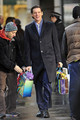 "Jim Carrey Films ""Mr Popper's Penguins"" in New York City - jim-carrey photo"