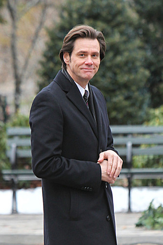 Jim Carrey in Central Park