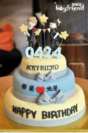 Boyfriends K pop images Jo Twins Birthday Cake wallpaper and