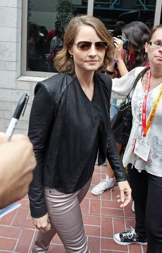 Jodie Foster at Comic-Con [July 14, 2012]