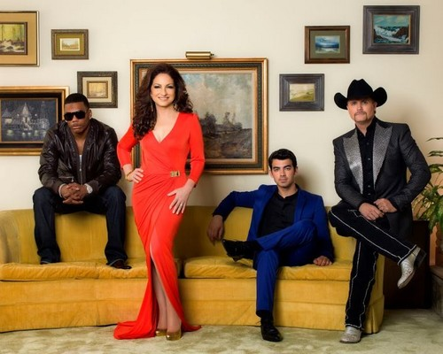 Joe Jonas , Nelly , Gloria Estefan, and John Rich