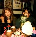 Johhny Depp and Faye Dunaway