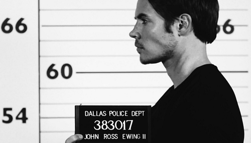 Dallas Tv Show wallpaper possibly containing a sign entitled John Ross / Mugshots