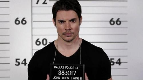 John ross / mugshots  - dallas-tv-show Photo