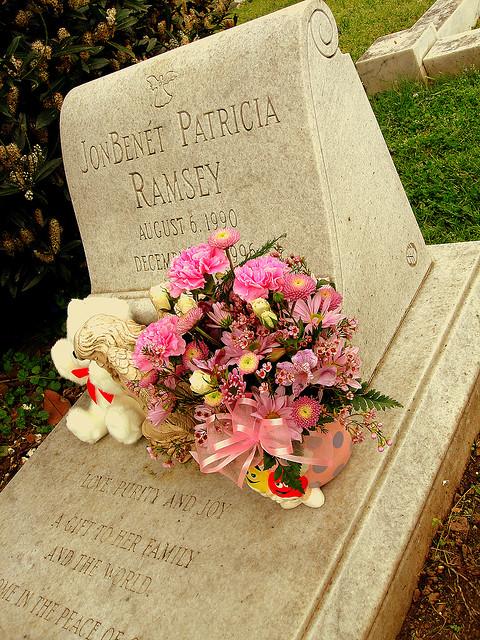 JonBenét Ramsey's grave