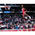 Jordan Gatorade Signed SIam Dunk Photo
