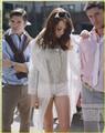 Josh Henderson, Emma Stone and Jensen Ackles