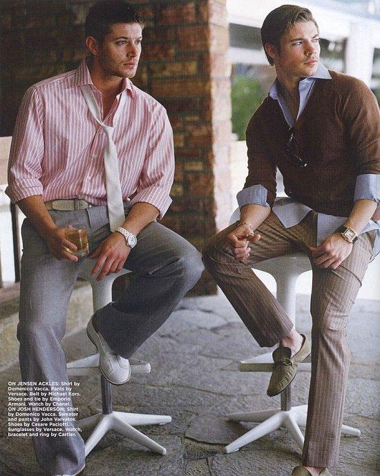 Josh Henderson and Jensen Ackles ♥