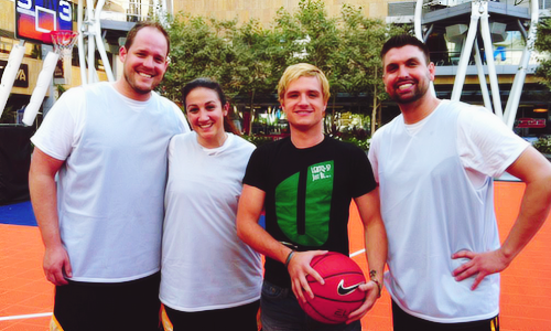 Josh is blonde again!