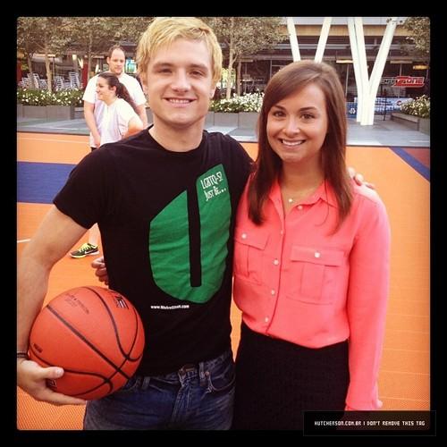 Josh is blonde again