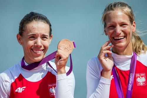 Julia Michalska & Magdalena Fularczyk won the bronze medal!