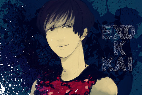 Kai - exo-k Fan Art