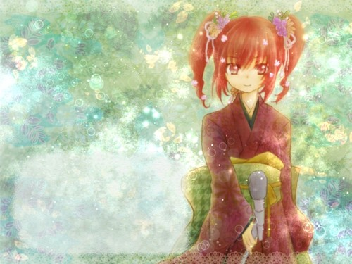 Kasane Teto - anime Photo