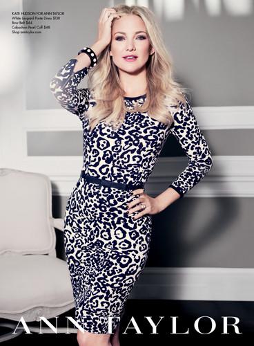 Kate Hudson's Ann Taylor Ad