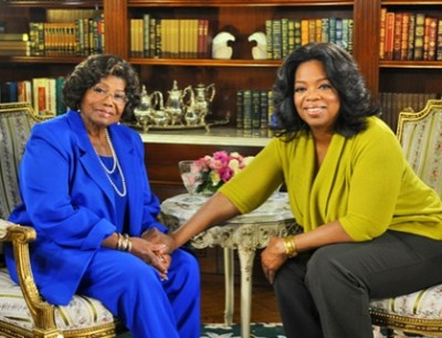 Katherine Jackson And Oprah Winfrey