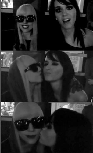 Katy and Gaga