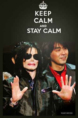 Keep calm Mike