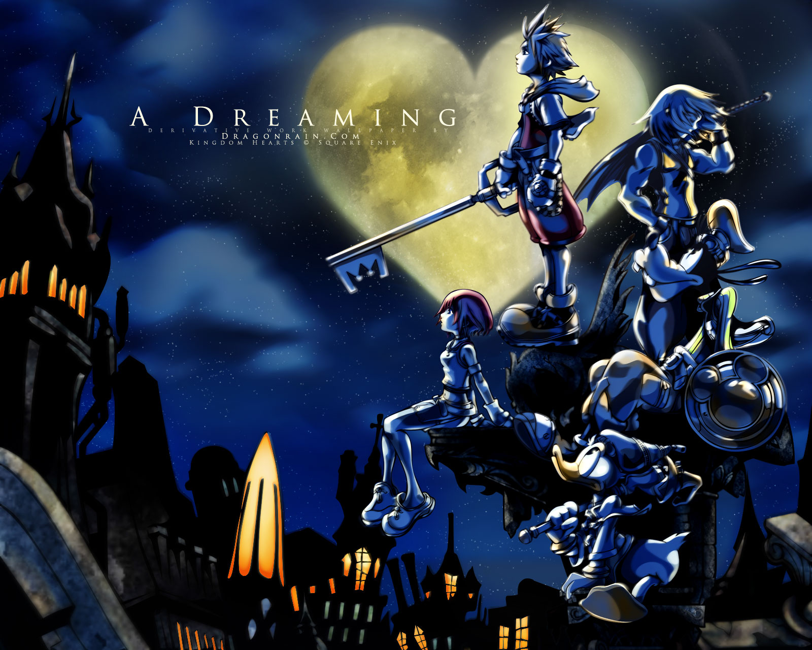 kingdom hearts background - photo #16