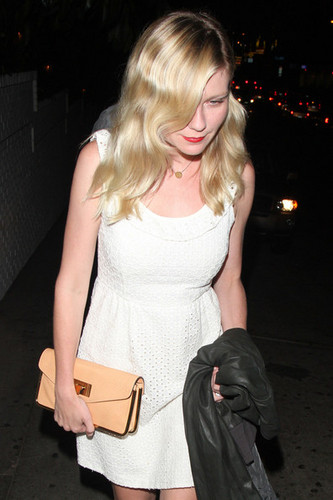 Kirsten Dunst at istana, chateau Marmont in West Hollywood [August 2, 2012]