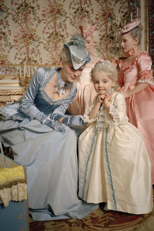 Kirsten Behind The Scenes Of Quot Marie Antoinette Quot Kirsten