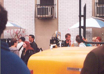 "Kirsten Dunst wallpaper with a street called Kirsten behind the scenes of ""Spider-Man"""