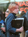 "Kirsten behind the scenes of ""Spider-Man"" - kirsten-dunst photo"