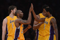 Kobe, Pau, Andrew, and Devin - los-angeles-lakers photo