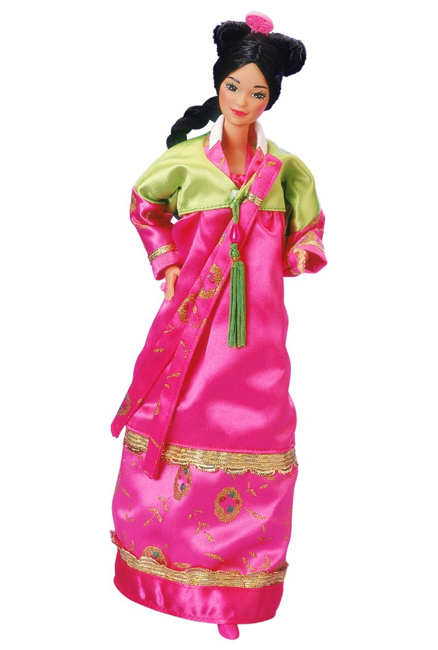 Korean-Barbie-Doll-1988-barbie-dolls-of-the-world-C2-AE-collection