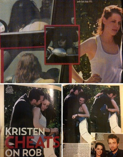 Kristen cheats on Rob!!!:'(