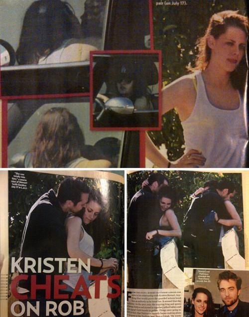 Kristen cheats on Rob!!!:'(