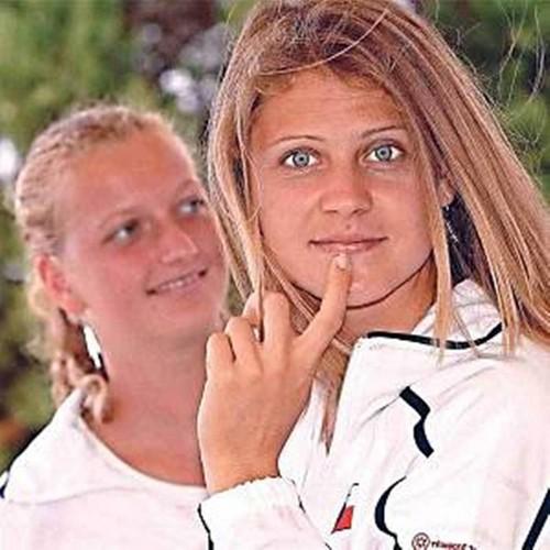 Kvitova and Safarova 2008