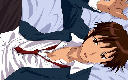 Kyon-kun - kyon-the-melancholy-of-haruhi-suzumiya Wallpaper