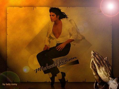 LADY ROMY ART - michael-jackson Wallpaper