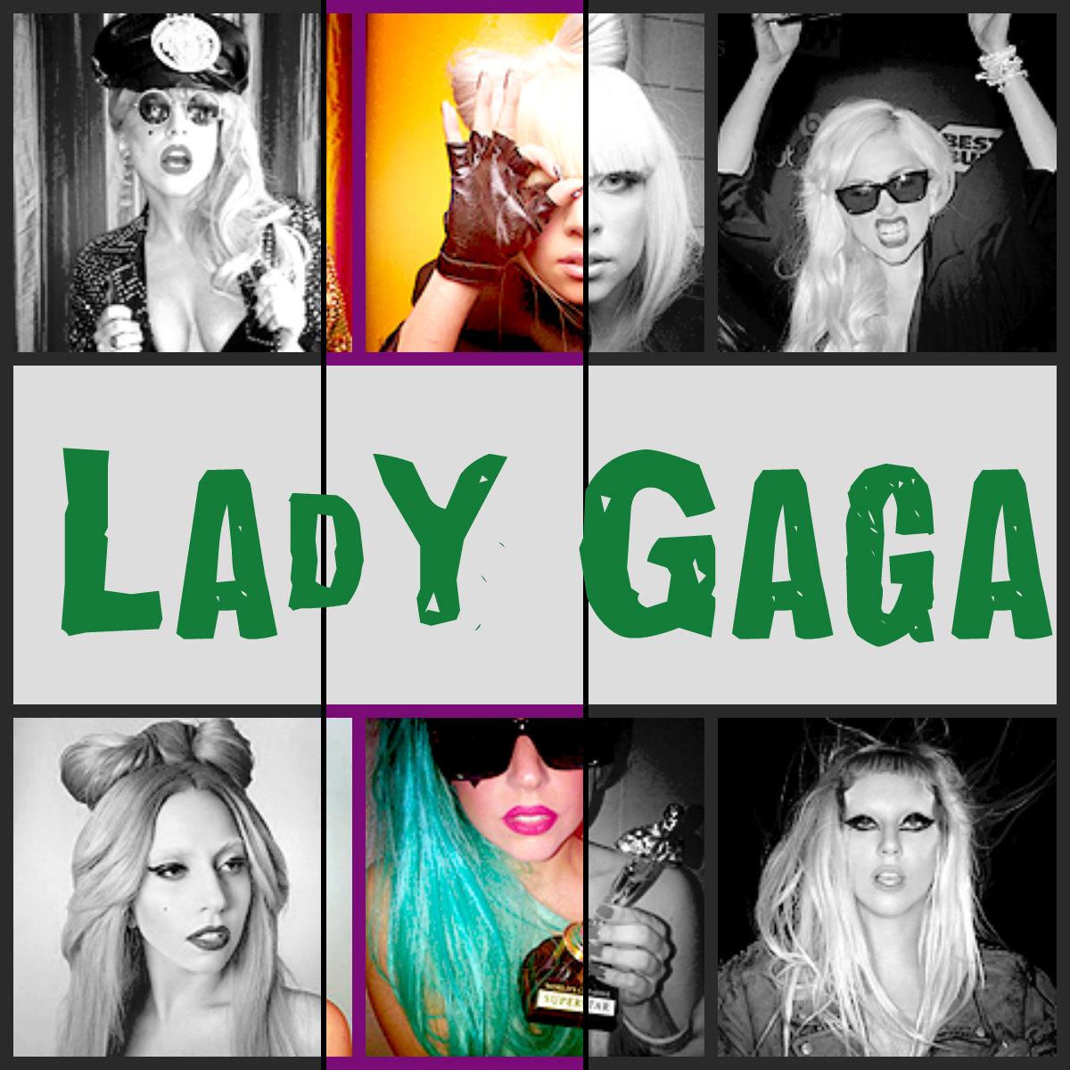 Lady Gaga collage