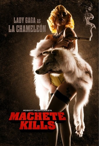 Lady Gaga in Machete Kills as La Chamelen - lady-gaga Photo