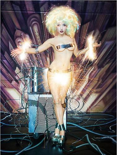Lady gaga's David LaChapelle photoshoot outtakes