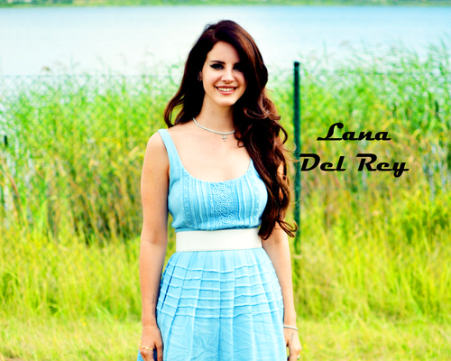 Lana Del Rey wallpaper possibly containing a cocktail dress, a top, and a grainfield called Lana♦